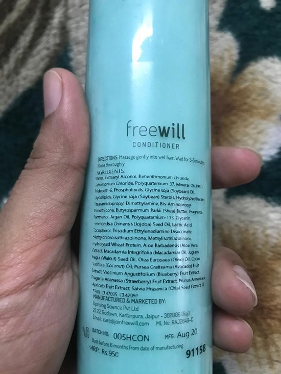 Free Will Personalized Hair Care Kit Review