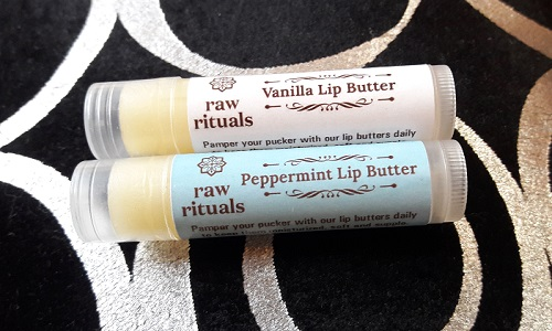Raw Rituals Chemical Free Lip Balm Review