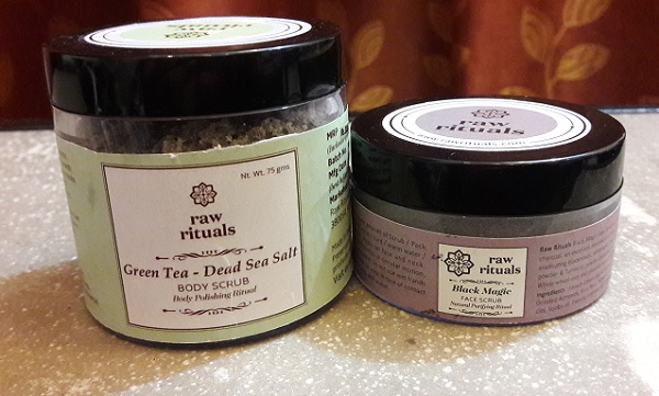 Raw Rituals Scrubs Review