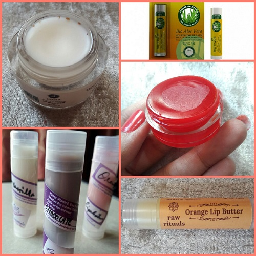 Chemical Free Lip Balms for Winters in India
