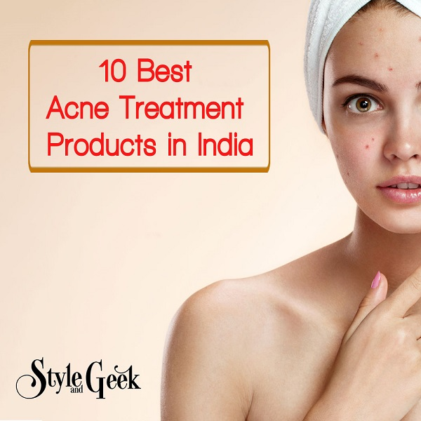 10 Best Acne Treatment Products in India