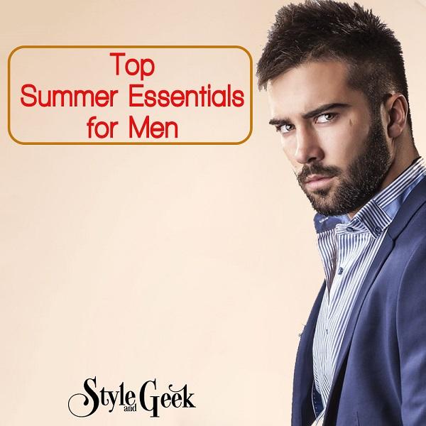 Best Summer Essentials for Men