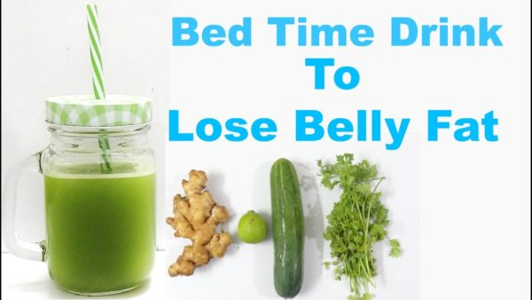 Bedtime Drink to Lose Belly Fat in a Week