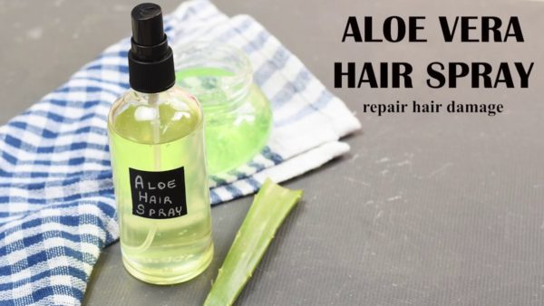 DIY Hair Spray For Damaged Hair